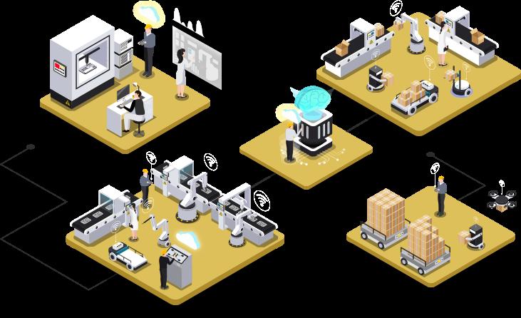 Empresa de manutenção preditiva de ativos industriais